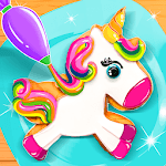 Unicorn Cookie Baker Kitchen APK icon