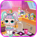 LOL Surprise Game Doll House Cleaning APK icon