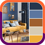 Home paint color combination APK