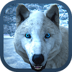 Arctic Wolf Family Simulator: Wildlife Games APK icon