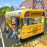 Offroad School Bus Driving Simulator 2019 APK