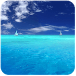 Calm Ocean Waves Sounds: Relax Music, White Noise APK icon
