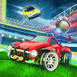 Rocket Car Football Tournament APK icon