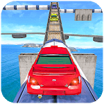 Impossible Drive Tracks Car Racing - Industrial APK icon