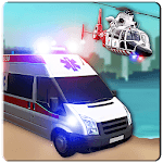 Offroad Police Flying Helicopter Ambulance 3D Game APK