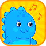 Baby Dino World - Nursery Rhymes Songs & Videos APK icon