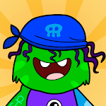 My Monster Town - Playhouse Games for Kids APK icon