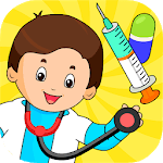 🏥 My Hospital Town: Free Doctor Games for Kids 🏥 APK icon