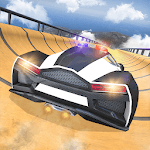 US Police Car Impossible tricky stunts 2019 APK icon
