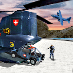 US Police Helicopter Transport: Police Plane Games APK icon