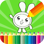 Coloring Pages & Drawing Book Free - Kids Paint APK icon