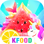 Unicorn Chef: Summer Ice Foods - Cooking Games APK icon