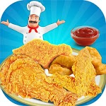 Deep Fry Chicken Cooking Game APK