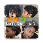 100+ African natural hairstyles collection APK icon