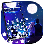 Romantic Love Night Gravity Theme APK
