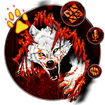 Blood Wolf Themes Live Wallpapers APK icon
