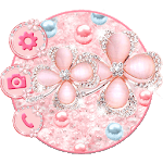 Glitter Flower Themes Live Wallpapers APK icon