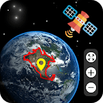 Live Earth Map 2019 - Satellite View & Street View APK icon