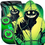 Creepy Smile Man Themes HD Wallpapers 3D icons APK