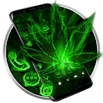 Fire Weed Rasta Themes HD Wallpapers 3D icons APK