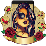 Tattoo Girl Art Themes HD Wallpapers 3D icons APK