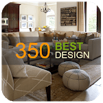 350 Living Room Decorating Ideas APK