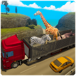 Zoo Animal Transport Truck APK icon