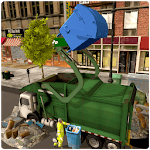 Garbage Truck Simulator: Trash Waste city APK