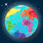 World map geography, capitals, flags, countries APK icon