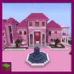 Pink Princess House Map for MCPE APK icon