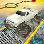 Monster Truck Driving Stunts: Impossible Tracks 19 APK icon