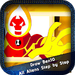How to Draw Ben10 All Aliens Step by Step APK