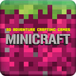 MiniCraft: 3D Adventure Crafting Games APK icon