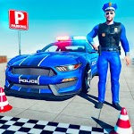 Real Police Car Parking & Driving School Test APK icon
