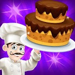 Cake Bakery Shop - Sweet Cooking, Color by Number APK icon