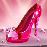 Shoe Designer: Fashion Shoe Maker, Color by Number APK icon