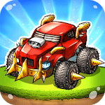 Battle Car Tycoon: Idle Merge Arena APK icon