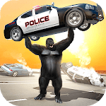 Monster Gorilla Rampage Apes Family Simulator APK icon