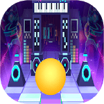 Dance Ball roll road sky Line APK icon
