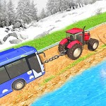 Chained Tractor Towing Rescue APK icon