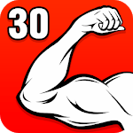 Arm Workouts - Strong Biceps in 30 Days at Home APK icon