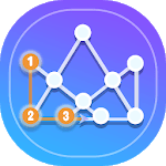 1 Line Drawing: Connect all the Dots APK icon