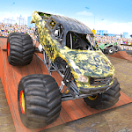 Fearless Army Monster Truck Derby Stunts APK icon