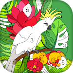 Tap Coloring Book - Color By Number APK icon