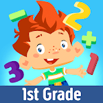 First Grade Math by Play & Learn APK icon