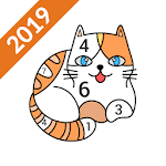 Art Number Coloring 2019: Color by Number & Puzzle APK icon