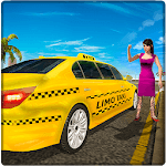 Limo Taxi Driver Simulator : City Car Driving Game APK icon