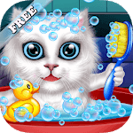 Wash and Treat Pets Kids Game APK icon