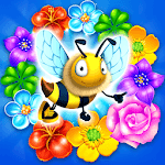 Colorful Flowers Match 3 APK