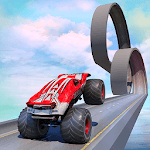 Monster Truck on Impossible Tracks APK icon